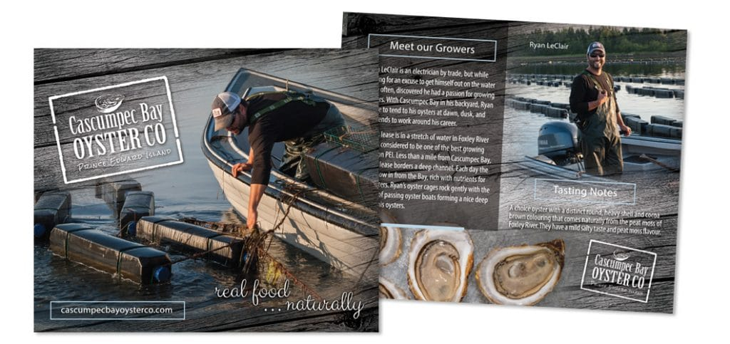 Cascumpec Bay Oyster Grower Cards