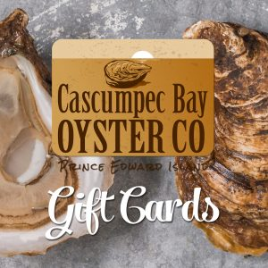 Cascumpec Oysters Gift Cards